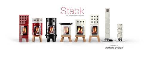 stack stove round stack
